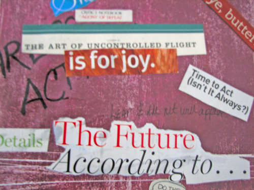 Vision Board  The Future According To