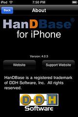 HanDBase - About