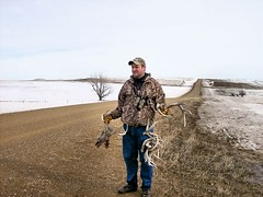 Ron after walking one tree row. (Wayne Baer) Tags: found hunting shed horns deer ron antlers rack buck find sheds whitetail deerhorns shedhunting deersheds shedantlers antlerhunting whitedeerantlers