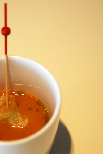 Gazpacho (Spainish cold tomato soup) - DSC_2236