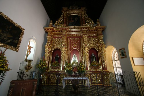 Altar at the Convento de la Popa, Cartagena.