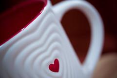 I ♥ Coffee (Rudy Malmquist) Tags: macro cup coffee day valentine starbucks mug valentines mm monday caffeine cuppa bemine macromonday