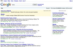 Davos Google Search Results - 02/12/09