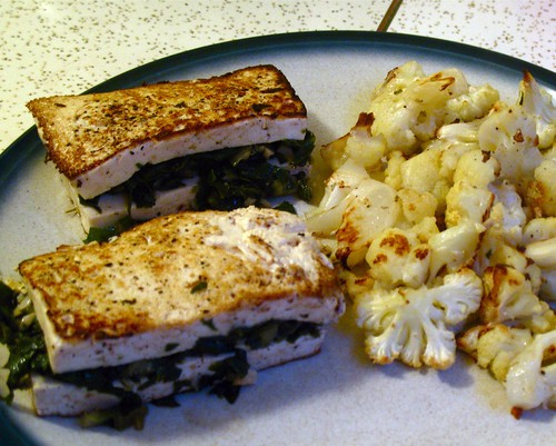 stuffed tofu