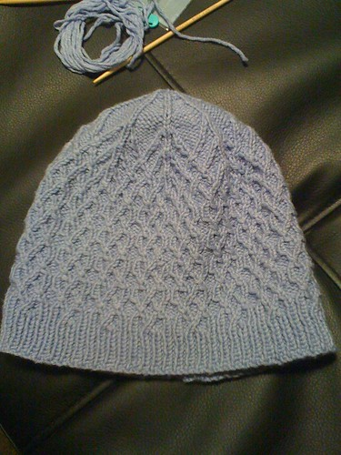 K's hat, completed