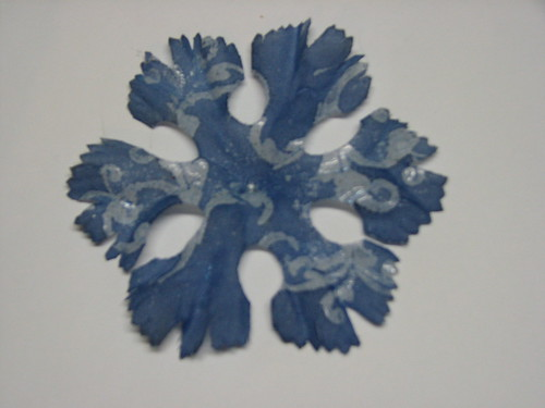 Faux Batik Dyed Flowers013