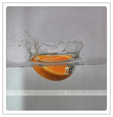 Orange 'N' Water ({ahradwani.com} Hawee Ta3kees- ) Tags: stilllife orange water glass speed nikon action creative seed drop ali explore hassan splash 2009 doha shutterspeed watersplash  homestudio d90    explored  watercrown  18105mm explore09 nikond90      nikond90club nikon18105mm hawee  18105mmlens  explore2009   exploreoctober09 haweeta3kees   ta3kees ahradwanicom ahradwani