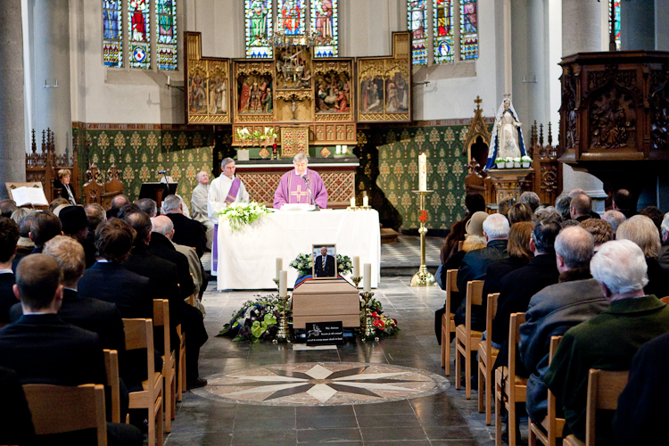 Begrafenis Antoine Vanhove