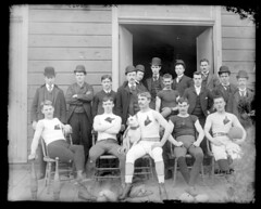 Football Team About 1900. (AFIK  BERLIN) Tags: man guy sport vintage football team shot lad guapo bloke ragazzo erkek shab