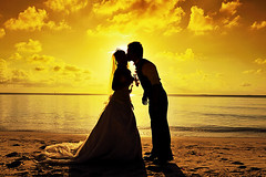 Maldivian Romance... (muha...) Tags: hello travel wedding sea summer people cloud brown hot love beach yellow japan fun island moving jump nikon kiss couple holidays honeymoon unique ngc destination weddingdress filters maldives sillhouette beachwedding japanesewedding global summerholiday cokin oneonly reethirah muha cokinfilters japanesecouple muhaphotoscom nikond700 maldiveswedding maldivianweddings