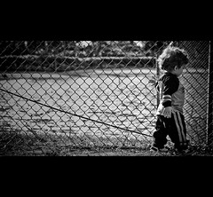"Feel (EK Captures) Tags: fence nephew cinematic 28135mm blueish digitalcameraclub canoneos40d ""flickraward"""