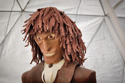 Evil Chocolate Face