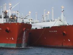 2007_0122hogmanyandtanker0012 (breeksy2002) Tags: orkney ship lpg scapaflow shiptoship