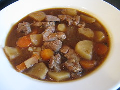 Lamb and stout stew