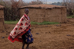 massai village (sirca1) Tags: africa house man colour village kenya cristina massai arquimbau