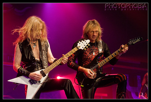 Judas Priest - KK Downing - Glenn Tipton