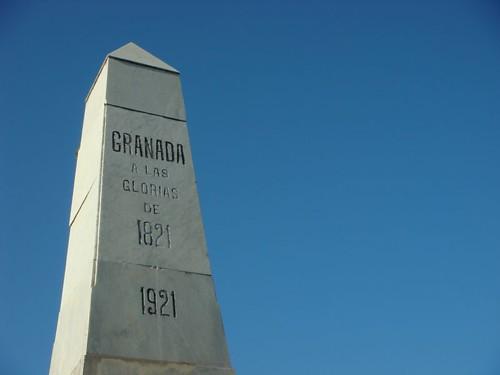 Granada monument