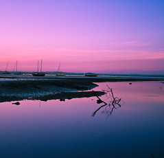 Pink Hour (Nazar's Collection) Tags: pink blue sunset newzealand reflection auckland abbas nazar canon28135mmisusm nazarab