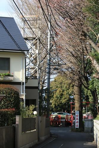 田無神社の火の見櫓
