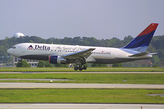 "Delta Airlines Boeing 767-232 N102DA ""Spirit of Delta"" (Flightline Aviation Media) Tags: atlanta airplane airport atl aircraft aviation jet delta boeing airlines 767 canond30 stockphoto katl 767200 spiritofdelta n102da 767232 hartsfieldjacksoninternational bruceleibowitz"