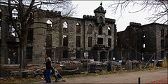 1856, Smallpox Hospital (Nick Pauly) Tags: nyc newyorkcity ny newyork castle ruins handheld rooseveltisland smallpoxhospital blackwellsisland welfareisland