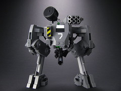 IGNITION Class Light Mech (mondayn00dle) Tags: dawn highway lego military hour forge zero 44 mecha mech foitsop