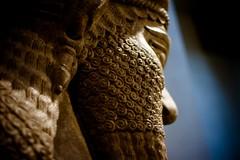 Lamassu (elrina753) Tags: nyc newyorkcity usa newyork art ancient unitedstates manhattan statues met sculptures metropolitanmuseum mesopotamia lamassu metropolitanmuseumofart assyrian nimrud shedu neareasternart