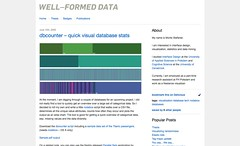 Well-formed data » dbcounter – quick visual database stats_1247224998060