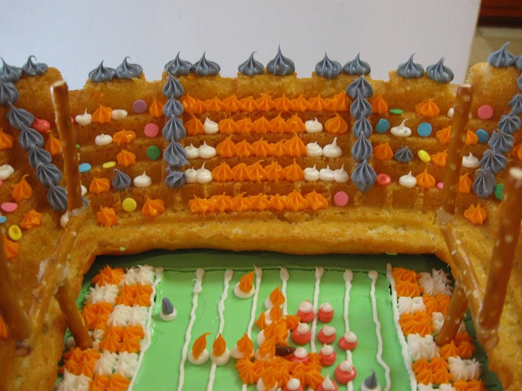 Neyland Stadium Cake