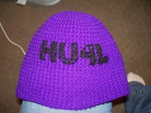 purple crochet beaniehat hollywoodundead hu4l