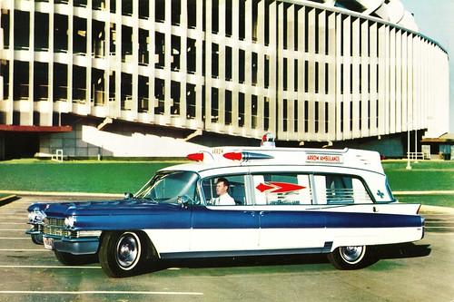 1963 Superior-Cadillac Rescuer Ambulance