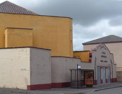 Former Raith Cinema from left