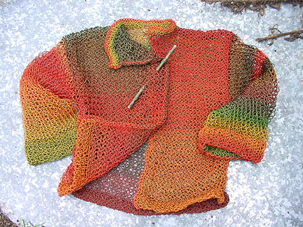 Marie Segal's Polymer Clay Knit Jacket