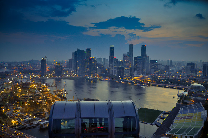 Singapore from Singapore Flyer