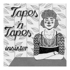 tapes 'n tapes - insistor (pearpicker.) Tags: wallpaper collage tattoo illustration diamonds table 7 cover single tapes insistor pearpicker