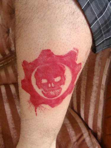 Gears of War Tattoo
