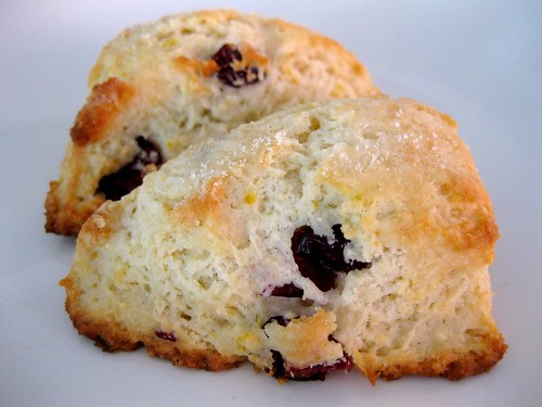 Obsessed With Baking: Lemon Cranberry Scones