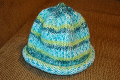 Knitted Baby Boy Hat 01