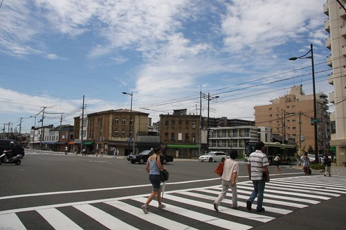 Kawaramachi-Shichijo crossing of the summer
