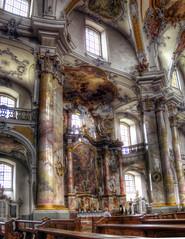 Basilika Vierzehnheiligen / Basilica of the Fourteen Holy Helpers (rawshooter72) Tags: church architecture canon is cathedral ixus explore hdr 82 rococo basilika hdri photomatix tonemapped vierzehnheiligen chdk