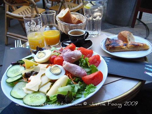 1st Day Lunch - Paris