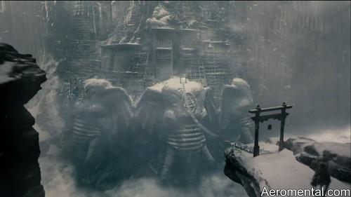 Imaginarium del Doctor Parnassus elefantes