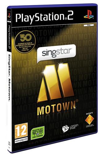 SingStar Motown PS2 boxart