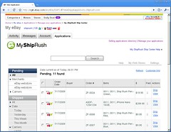 My.ShipRush on eBay 2