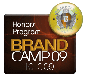 "Brand Camp '09:  ""Honors Program"" Widget"