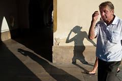 (arturp) Tags: street city shadow people photography cool poland polska h streetphoto krakw sukiennice hcsp cracov