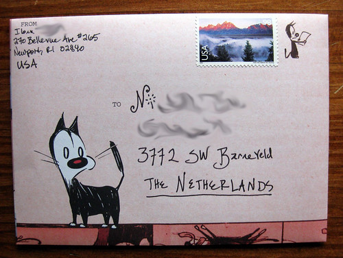 Mutts fold and mail