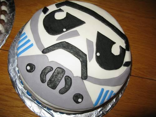 Tarta stormtrooper