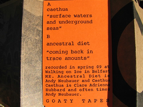 Caethua/Ancestral Diet Split - Goaty Tapes