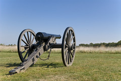 Cannon at the First Battle of Bull Run
